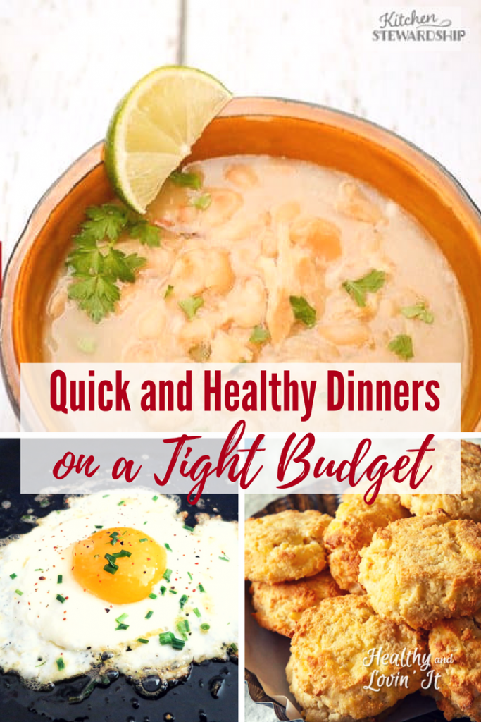 Super Quick and Healthy Dinners on a Tight Budget images