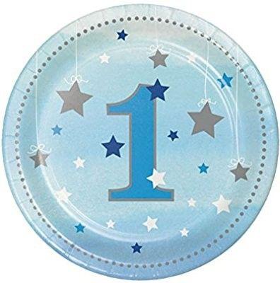 1st birthday paper plates  sc 1 st  Pinterest & 1st birthday paper plates | MAG1 | Pinterest | Birthdays and ...