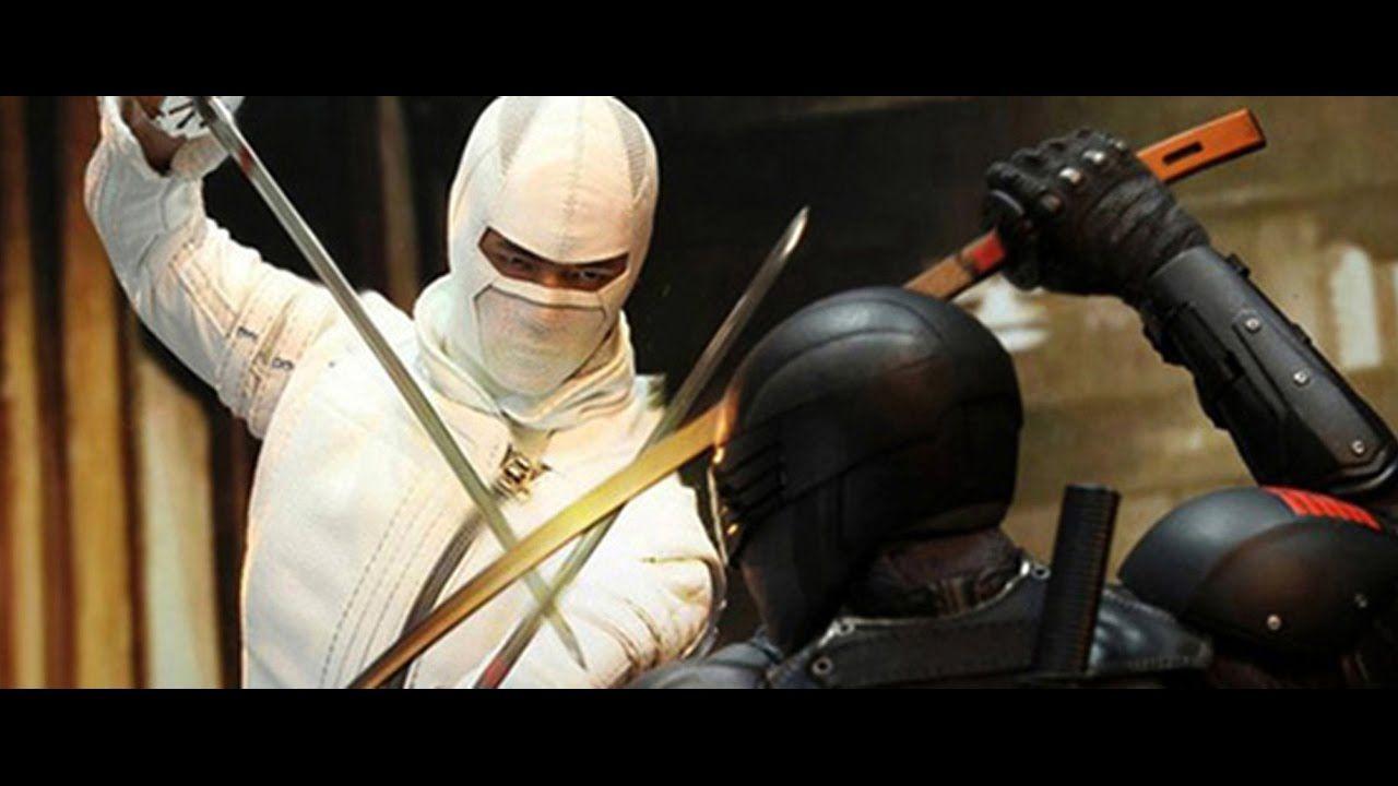 Gi Joe Retaliation Snake Eyes Vs Storm Shadow Gi Joe Retaliation Sna...