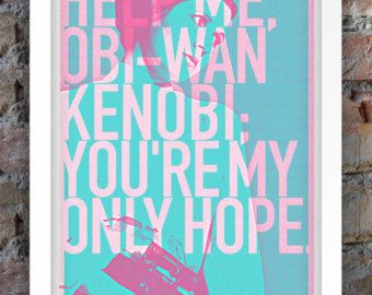 Star Wars Inspired Print (Heroes Series: PRINCESS LEIA) A3