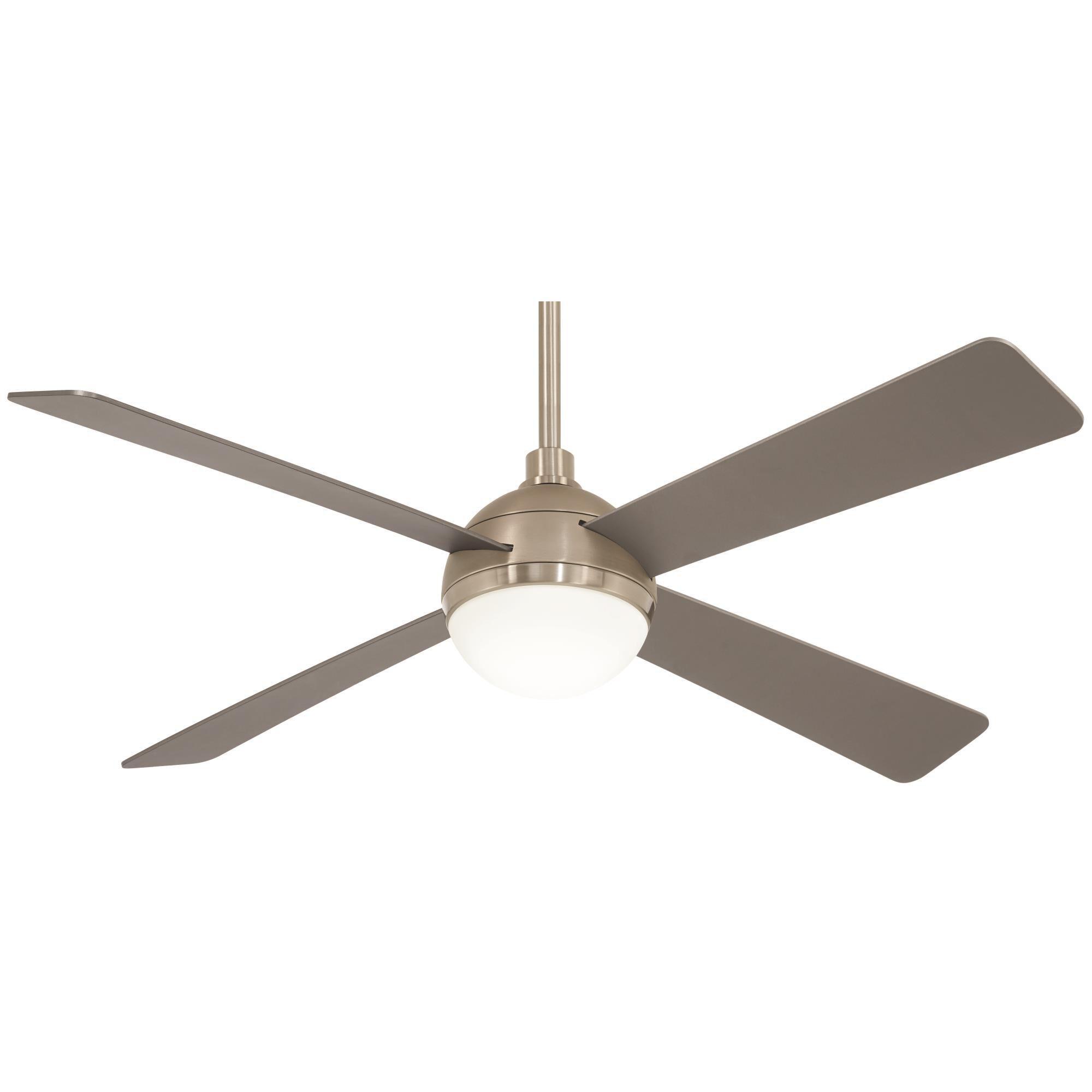 Orb Led 54 Inch Ceiling Fan With Light Kit Capitol Lighting Ceiling Fan With Light Fan Light Ceiling Fan