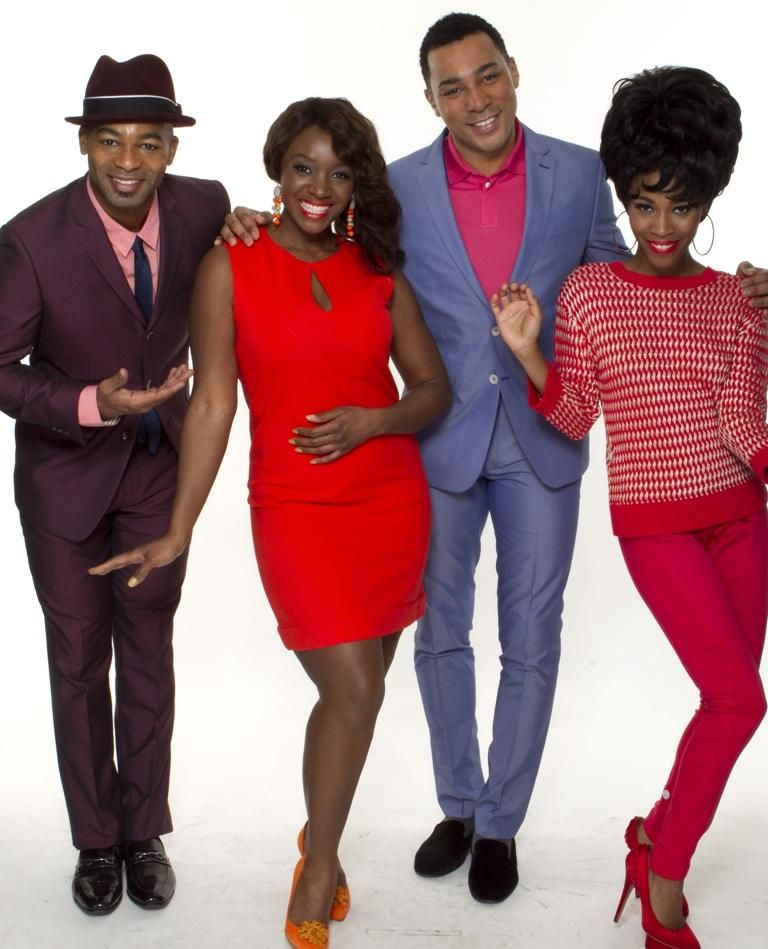 Motown Style With The Cast Of
