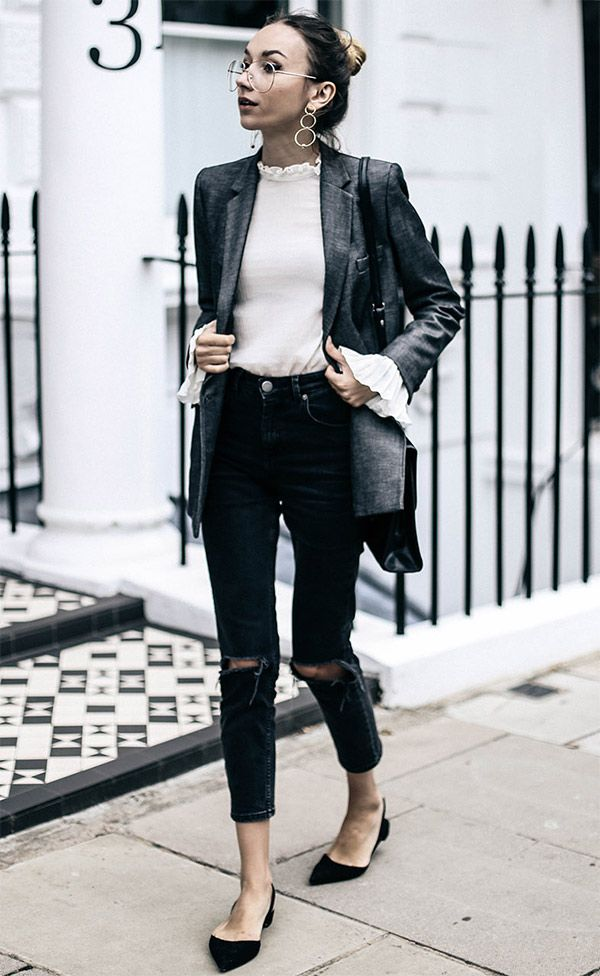 7 Maneiras de usar calça jeans + blazer » STEAL THE LOOK