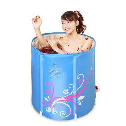 Erwachsene Verdickung aufblasbare Badewanne warmen klappbaren Badewanne