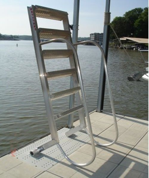 Charming 5 Step Wet Steps Dock Ladders