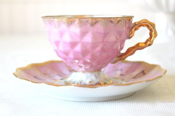 Antique Royal Sealy Inspired China Footed by MariasFarmhouse