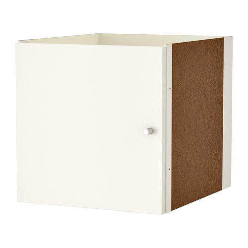 Kallax Insert With Door, White | Nice, Drawers And Doors Beige Wei Ikea