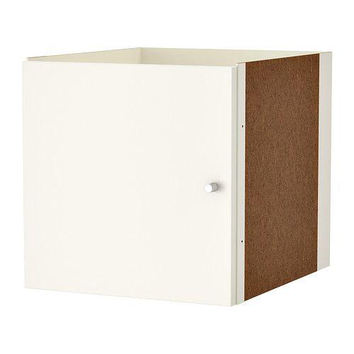 kallax einsatz mit t r wei wohnzimmerumgestaltung pinterest kallax ikea und wei e t ren. Black Bedroom Furniture Sets. Home Design Ideas
