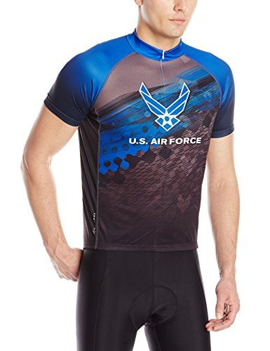 Primal Wear Mens US Air Force Flight Jersey Large Blue -- Check this  awesome product by going to the link at the image. 777402536