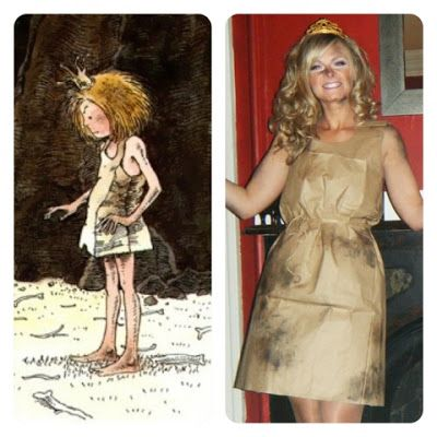 Paper Bag Princess costume #paperbagprincesscostume
