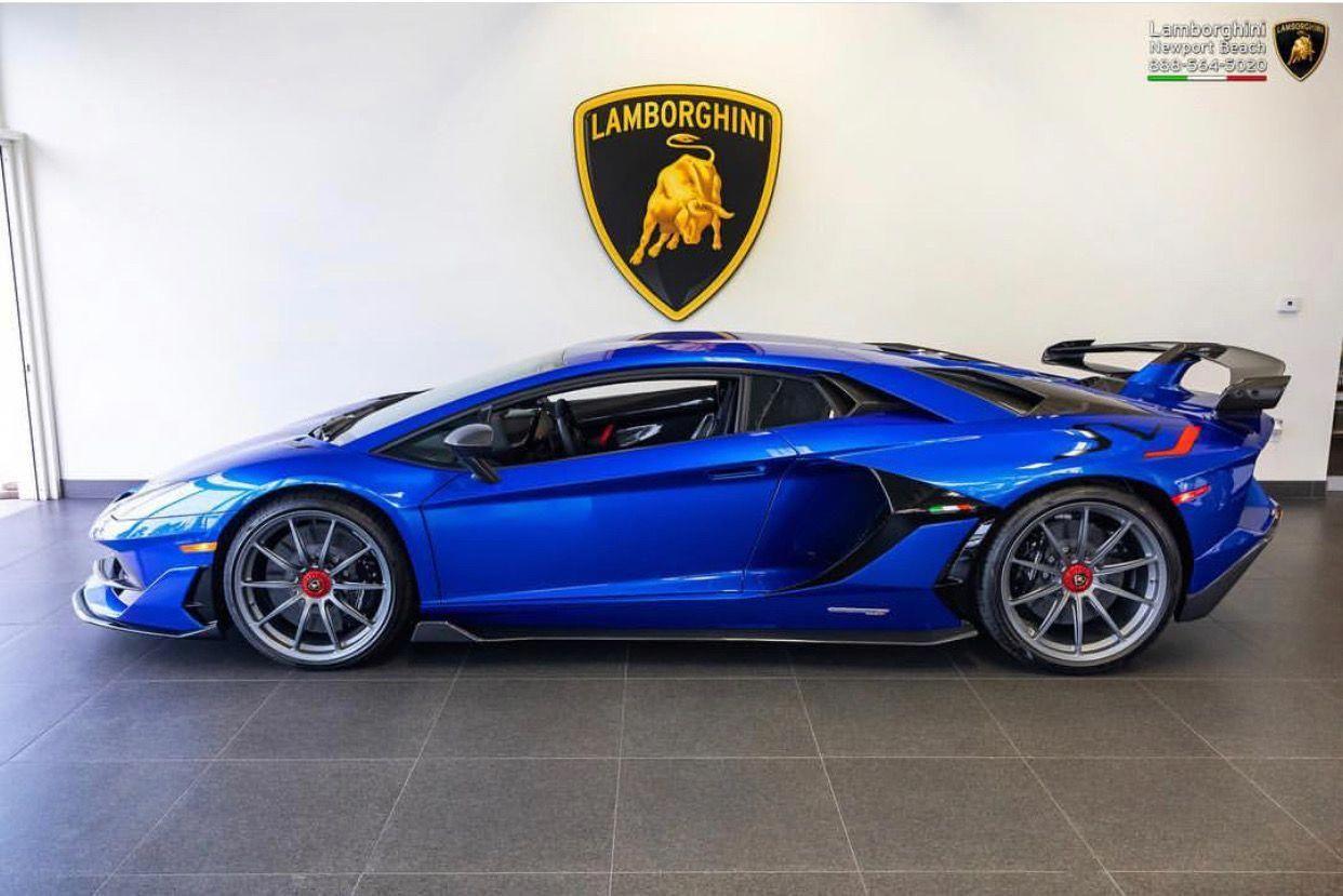 Lamborghini Aventador Super Veloce Jota Painted In Ad Personam Blu