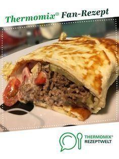 Big Mac Wrap (Low Carb Teig)