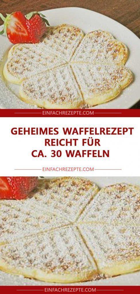 La ricetta segreta dei waffle è sufficiente per circa 30 waffle 😍 😍 😍  La ricetta segreta dei waffle è sufficiente per circa 30 waffle 😍 😍 😍
