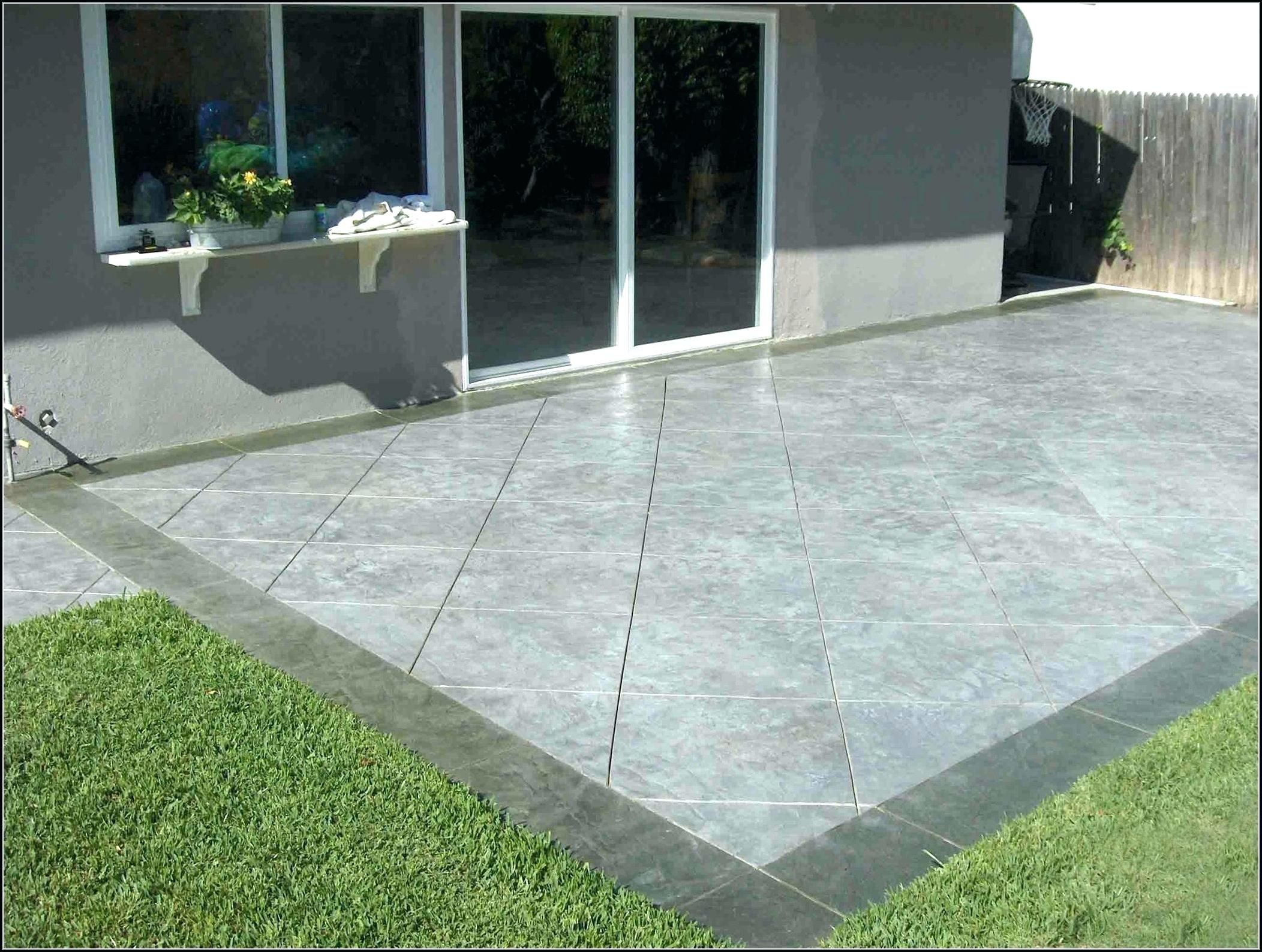 12 Genius Ways How To Make Backyard Cement Ideas Poured Concrete