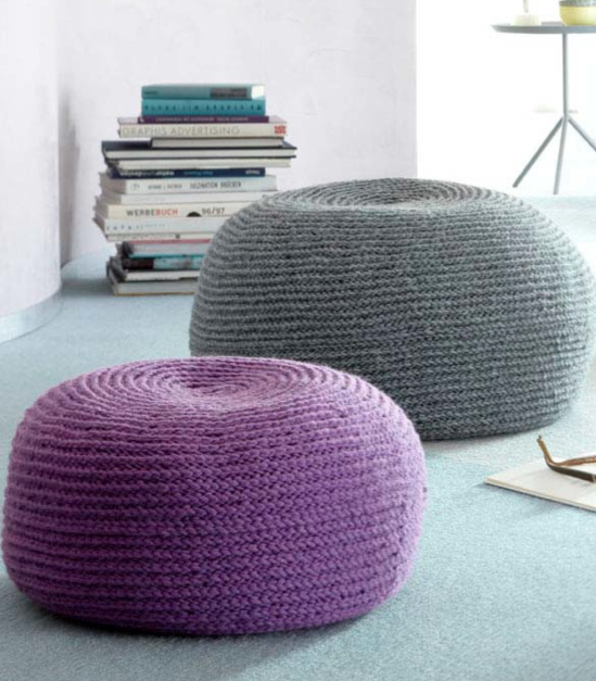 sitzkissen selber h keln my blog. Black Bedroom Furniture Sets. Home Design Ideas
