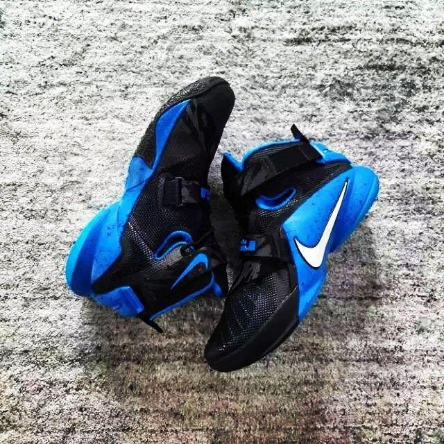 Nike LeBron Soldier IX 9 Black/Blue (1)