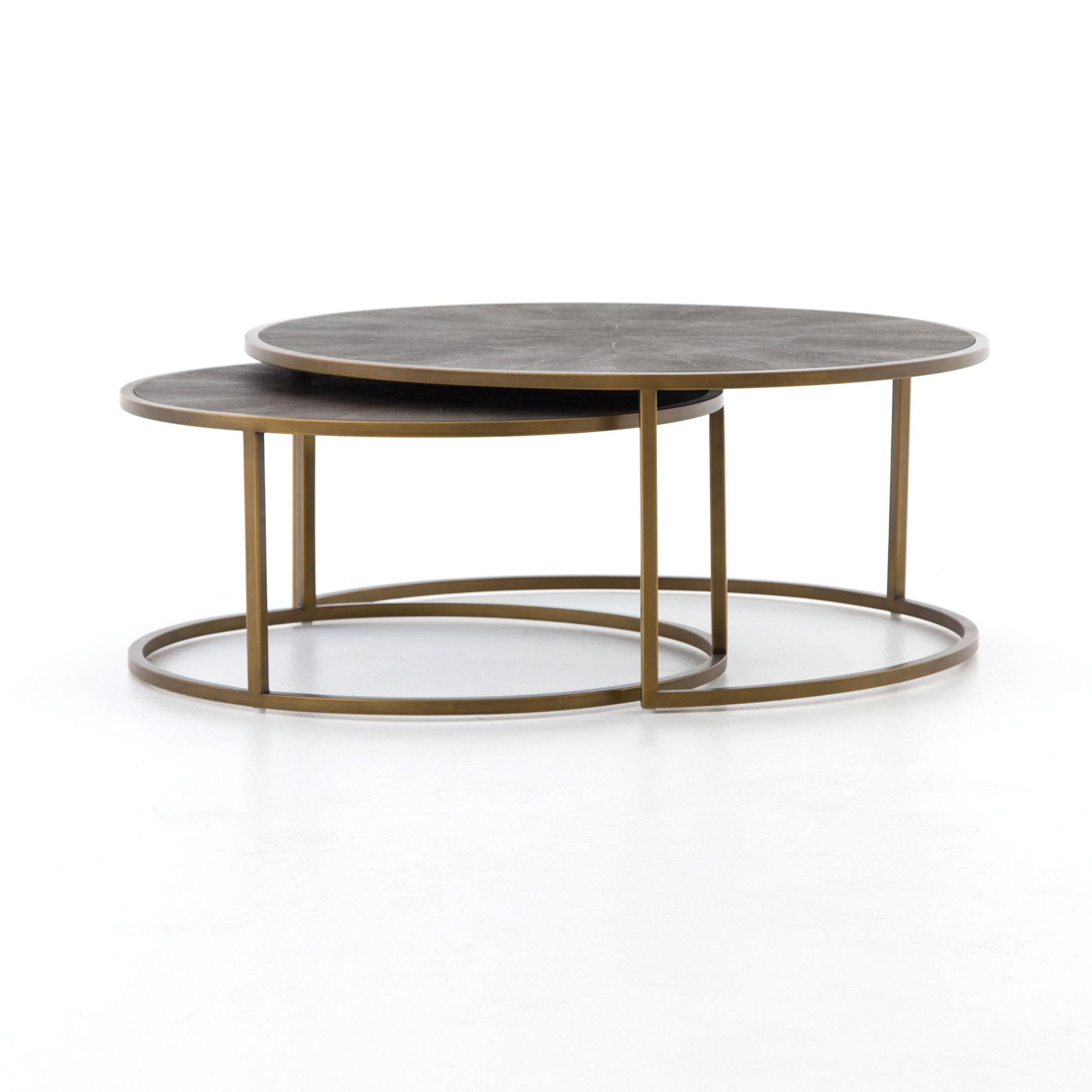 Don\'t like | Living Room, Coffee Table Option | Shagreen Nesting ...