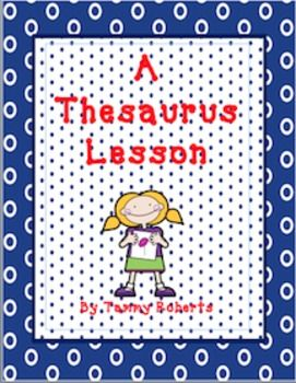 This powerpoint lesson introduces the thesaurus in a fun and motivating way. Students will create a foldable mini-thesaurus, which is a great addition to writing journals or notebooks.  Notes are provided for the teacher to lead them through the hook, guided thinking, activity ...