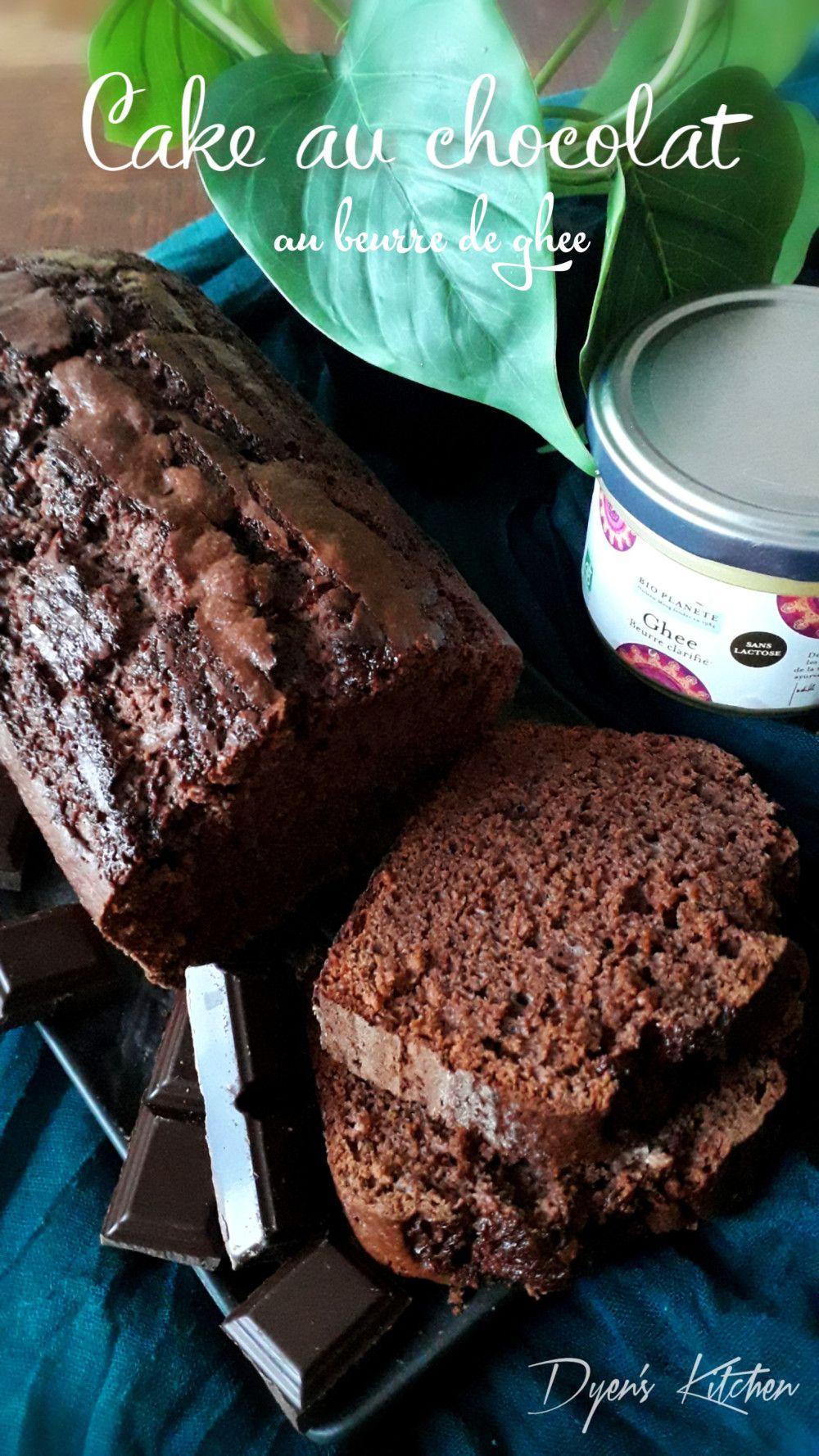 Cake au chocolat au beurre de ghee | Cake chocolat ...