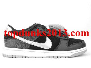 sports shoes 987cc df229 Comfort Takashi 2 Black Silver Nike Dunk Low Premium SB Signed online