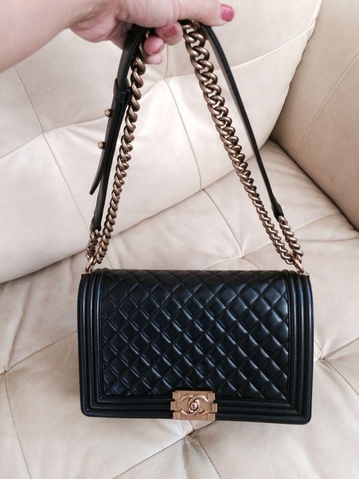 1e5f0caa34e5 Chanel New Medium Boy | Chanel | Bags, Chanel, Burberry handbags