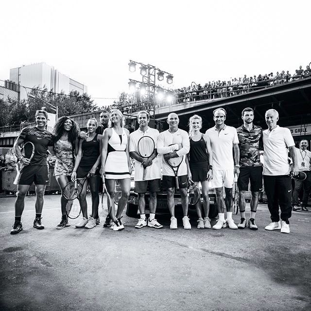 Us Open 2015 The Real Big Players Story of Tennis