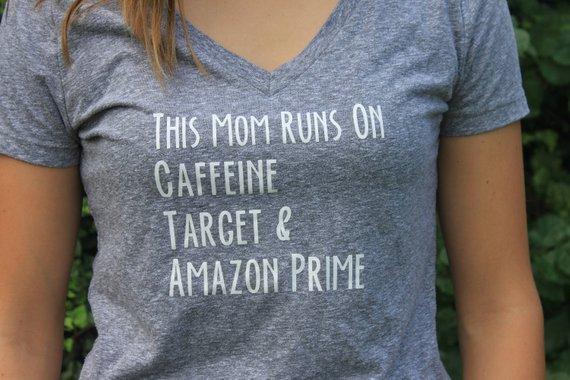 4995bc5c90 Caffeine Target and Amazon Prime Tee