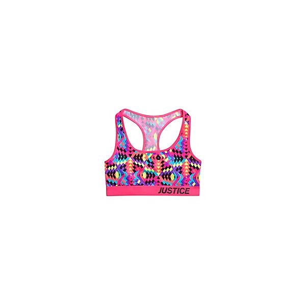Printed Sports Bra ❤ liked on Polyvore featuring sport, activewear and gymnast