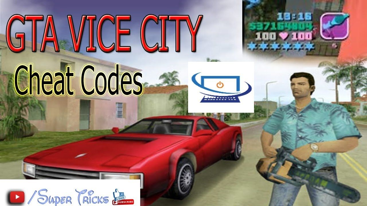 Gta Vice City Cheat Codes Download Super Tricks City Super Super Cars Gta