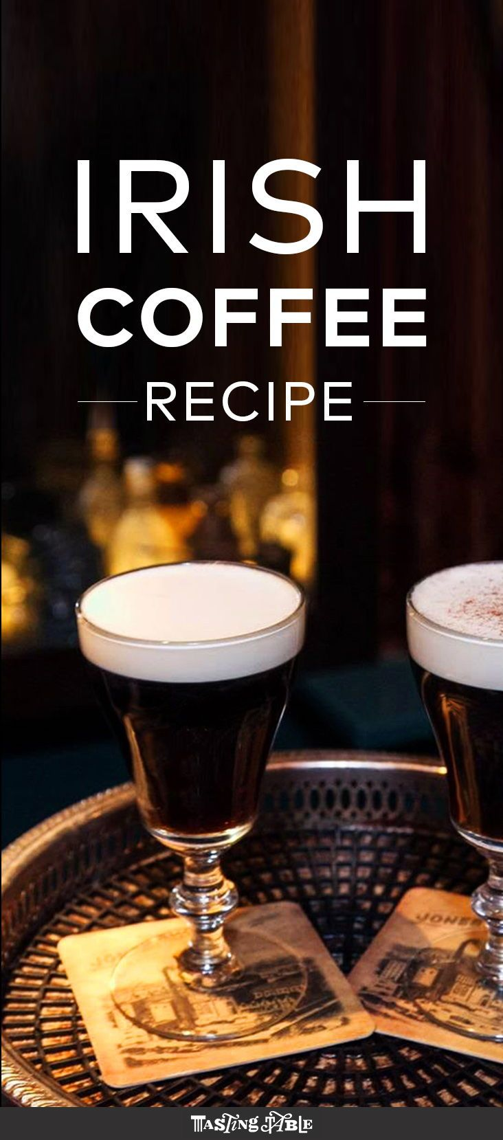 The Dead Rabbit's Irish Coffee Recipe Irish coffee