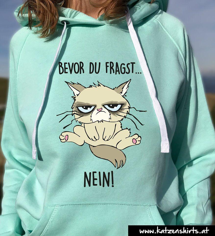NEIN Katzen Hoodie - jetzt kaufen #piaggiovespa