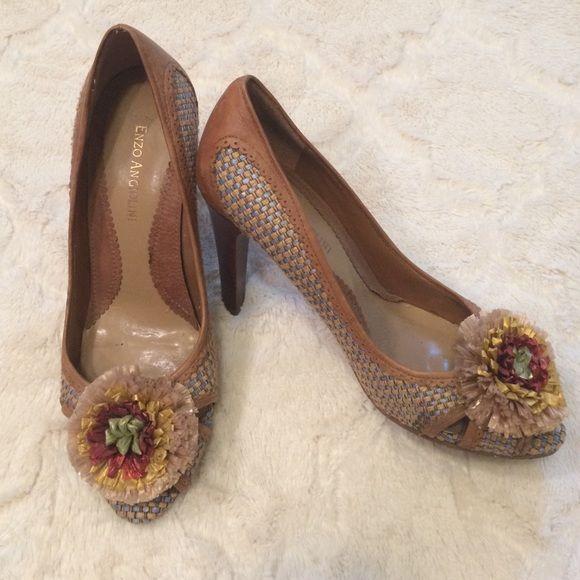 Enzo Angiolini Vintage Looking Shoes Size 6 Great condition. Super cute shoe. Enzo Angiolini Shoes