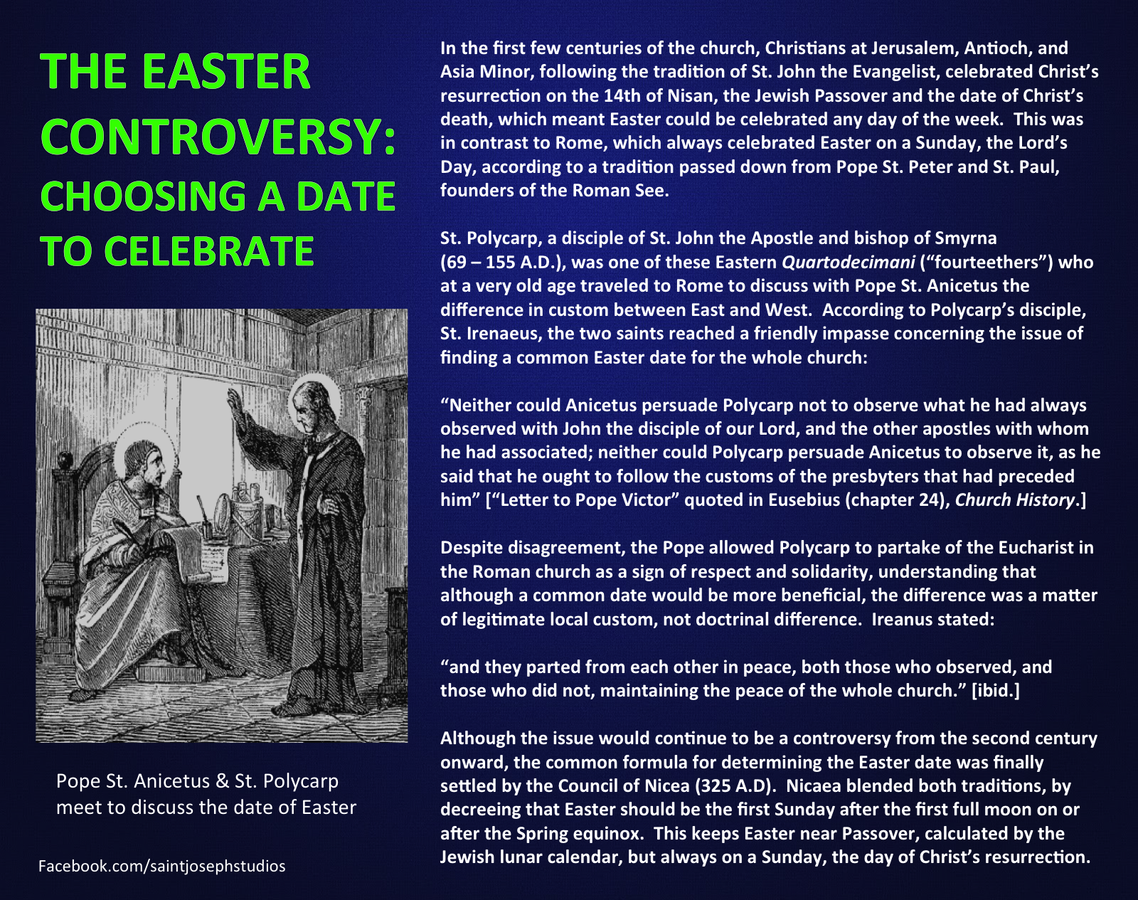 dating of easter controversy