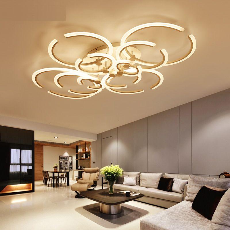 LICAN Modern Ceiling chandelier For Living Room Bedroom AC85-265V - hängelampen für wohnzimmer