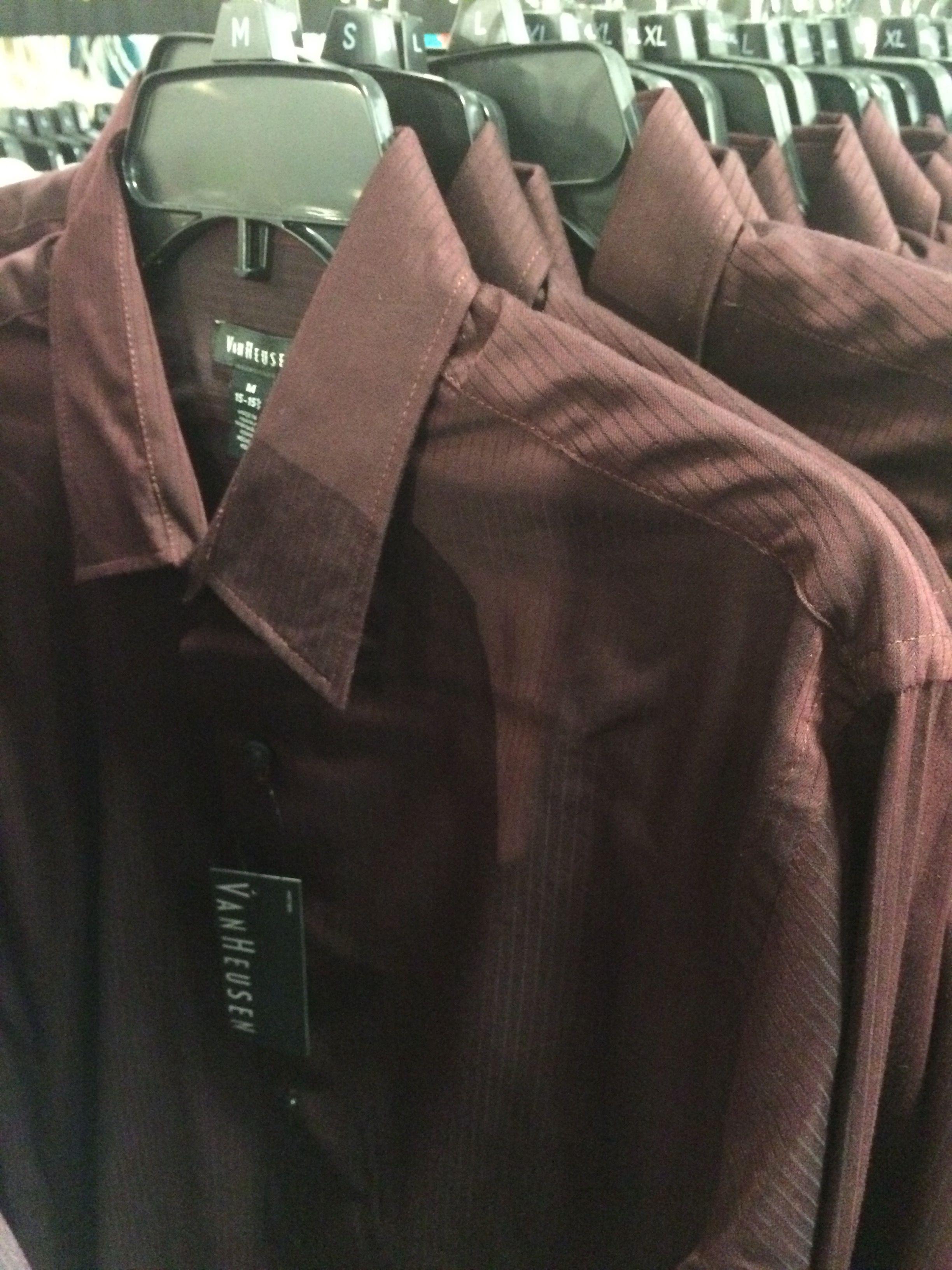 Van Heusen Stripped Dress Shirt M 15 3435 Found At Macys For