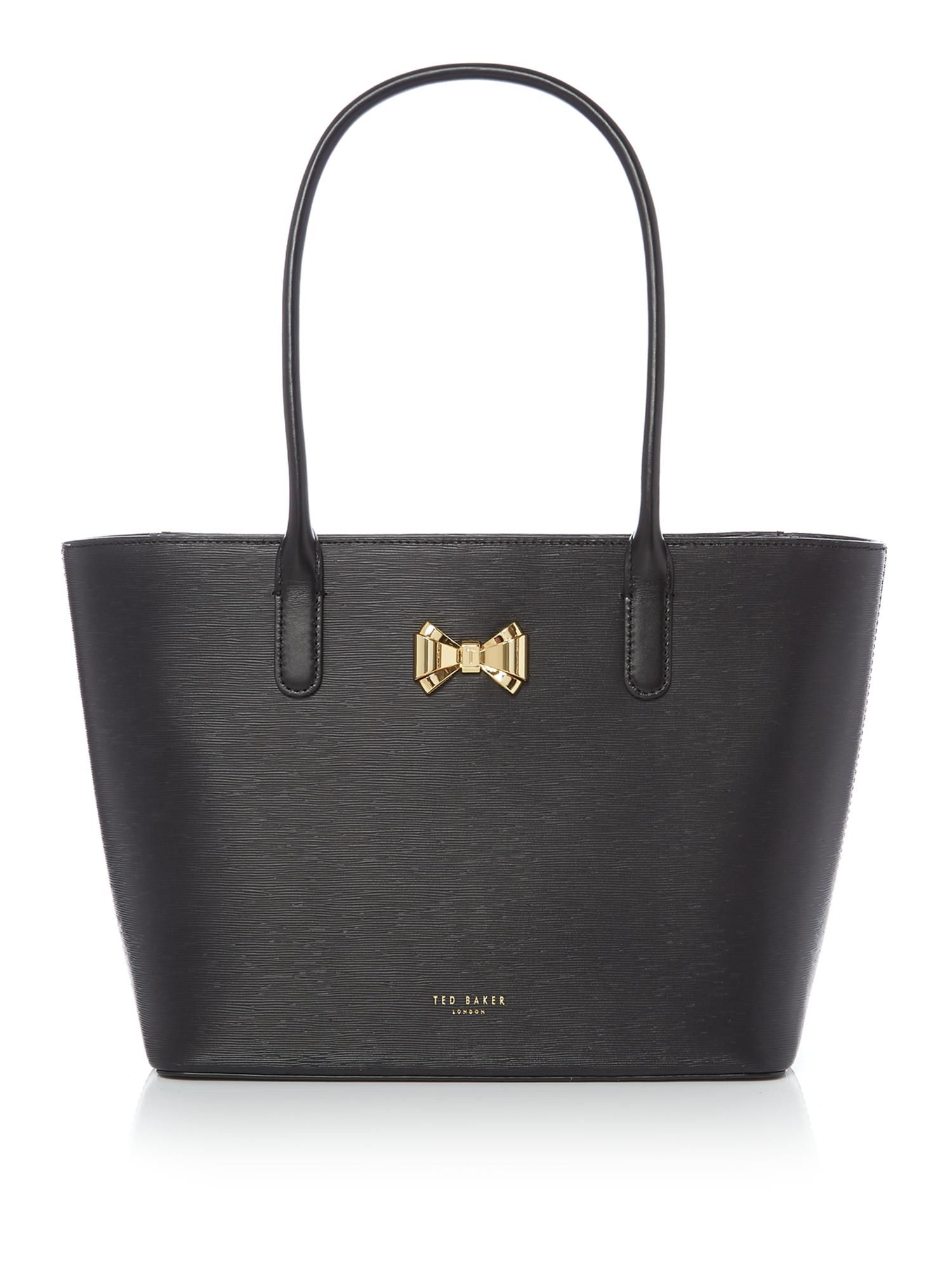 c6facf8cb4c879 Ted Baker Taleen Small Bow Tote Bag - House of Fraser