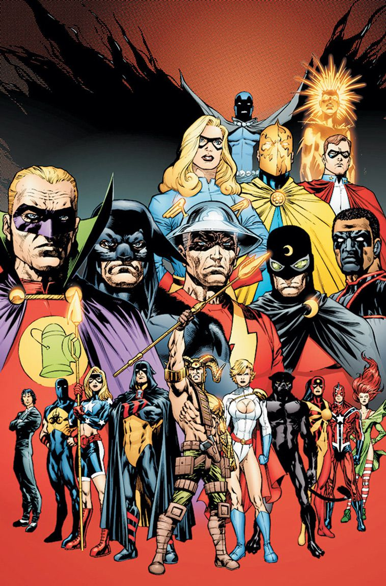 Justice Society of America by Jesus Merino