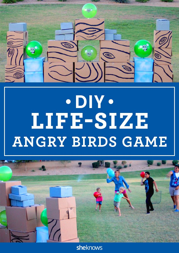 Theres a life size angry birds game and yes you can make it theres a life size angry birds game and yes you can make it yourself solutioingenieria Images