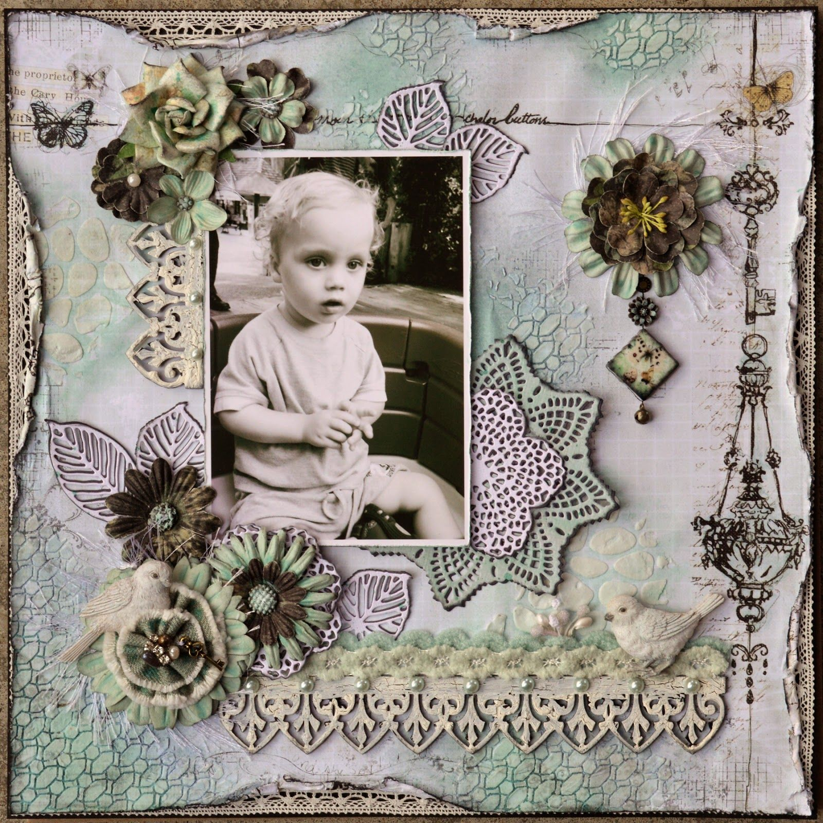 My Funky Scrapbook Blog: Watchful Wonder. the Epiphany collection by Prima