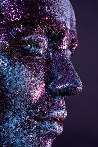 glitter makeup 1
