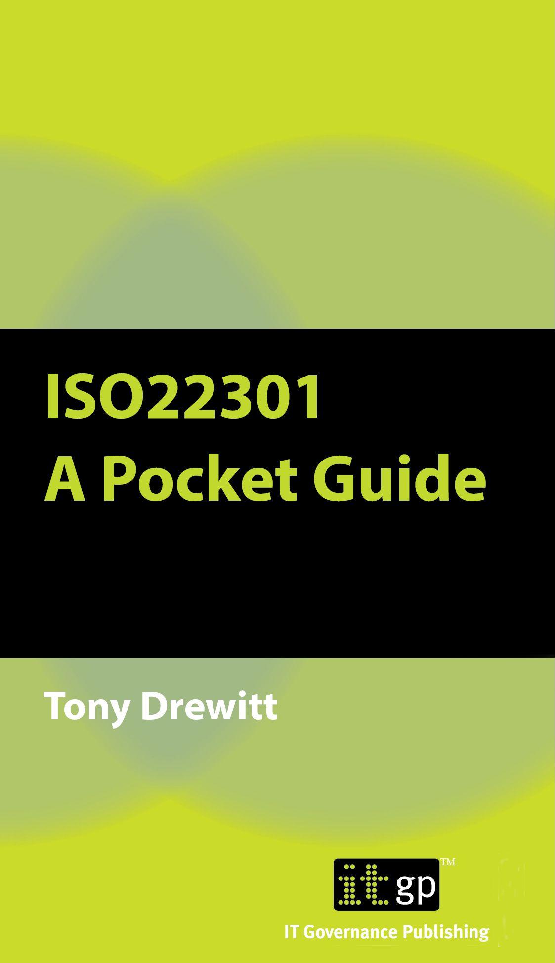 ISO22301 A Pocket Guide Pocket, Books, Ebooks