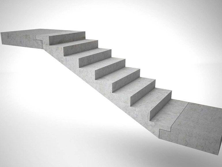 Escalera abierta prefabricada de hormig n by progress - Escalera prefabricada de hormigon ...