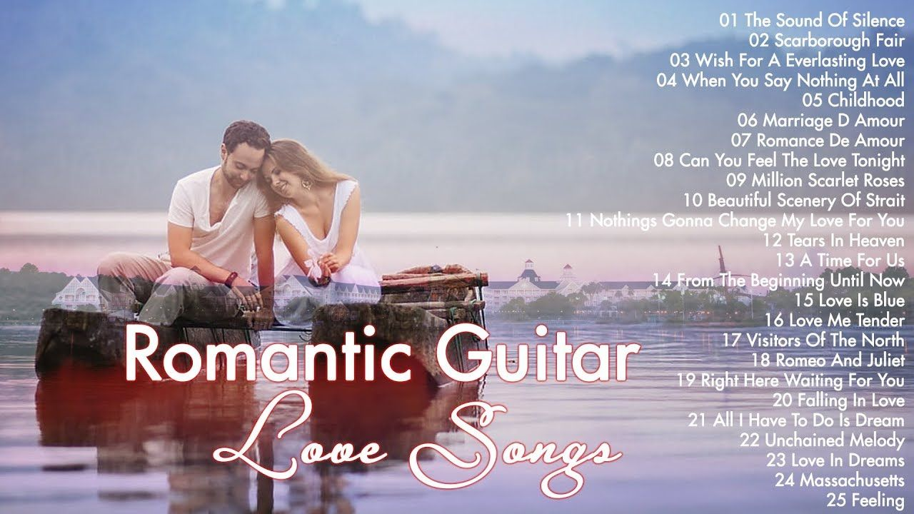 Top 50 Guitar Love Songs Instrumental Soft Relaxing Romantic Guitar Music Convert Youtube Video To Mp3 For Fr Love Songs How Are You Feeling Youtube Videos