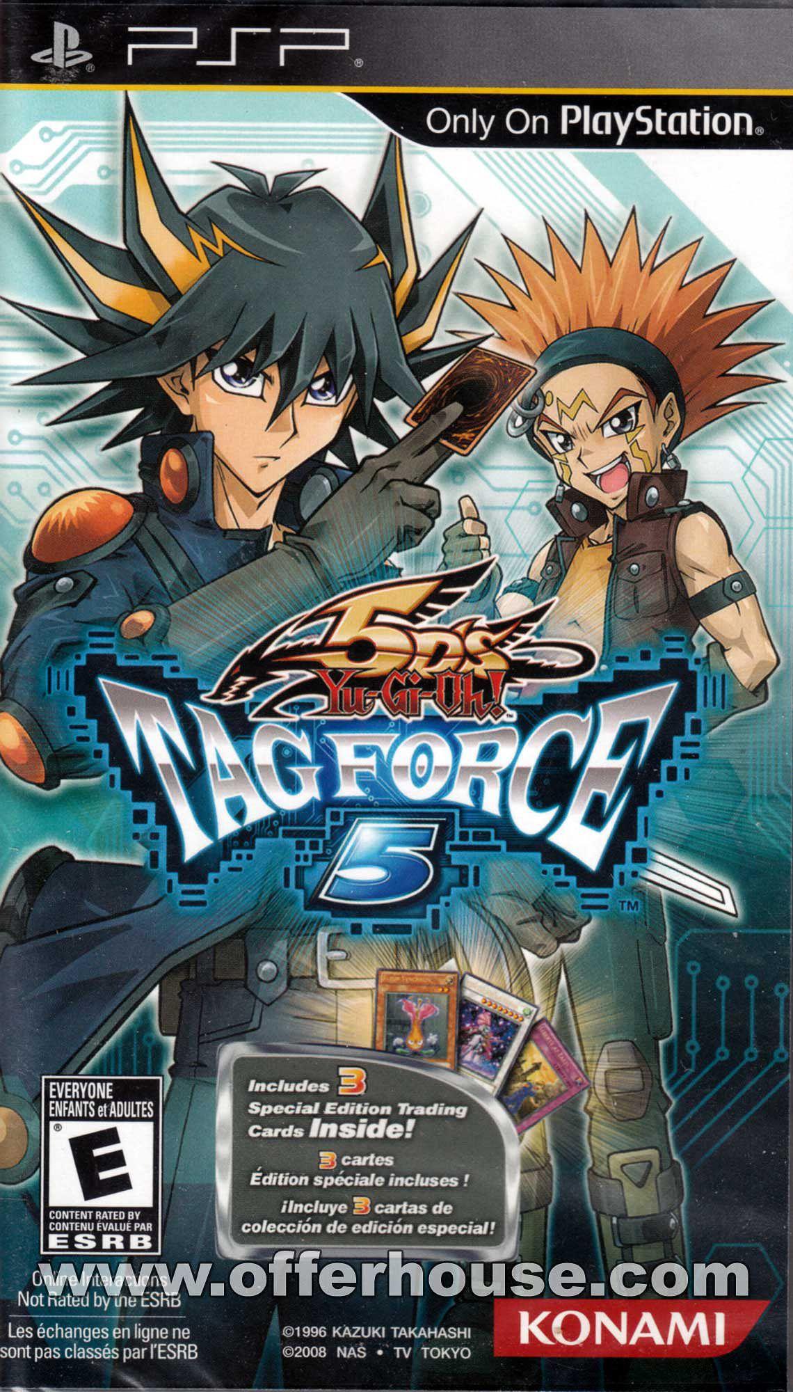 Yu Gi Oh 5ds Tag Force 5 Yugioh Psp Yu Gi Oh 5d S