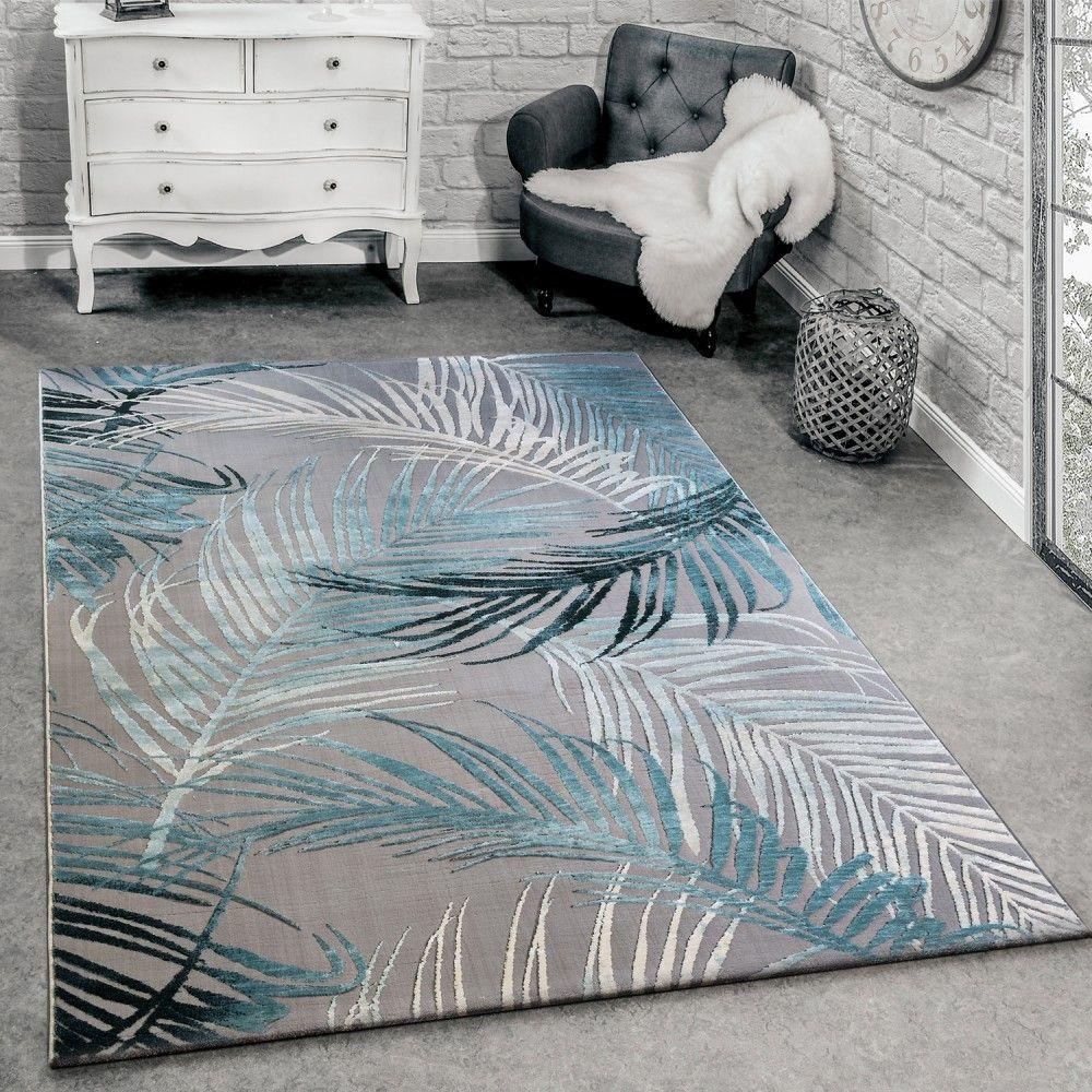 Teppich 3 D Effekt Palmblatter Muster Teppich Design Teppich Teppichfarben