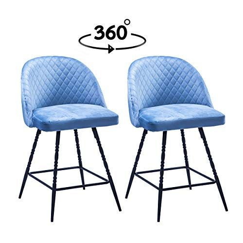 Best Haobo Swivel Dining Chair Accent Chairs Armless Cushion 400 x 300
