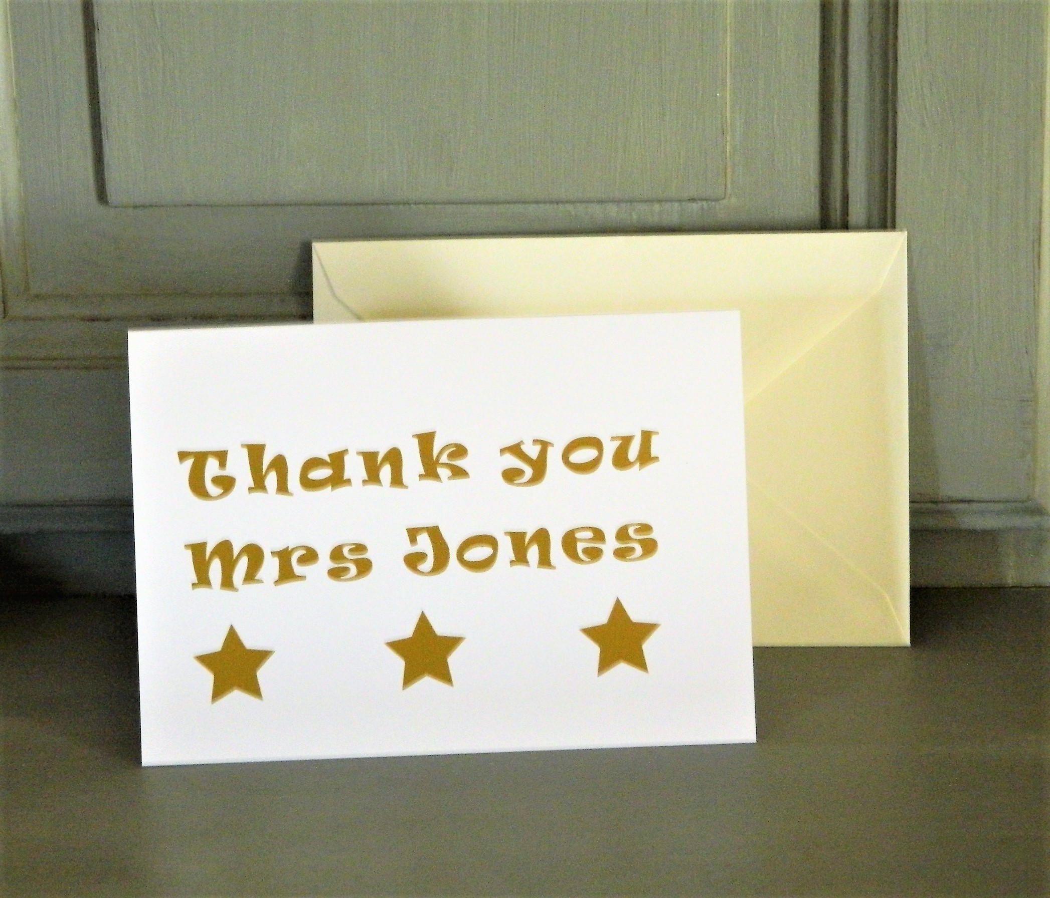 41+ Graduation thank you letter to teacher trends