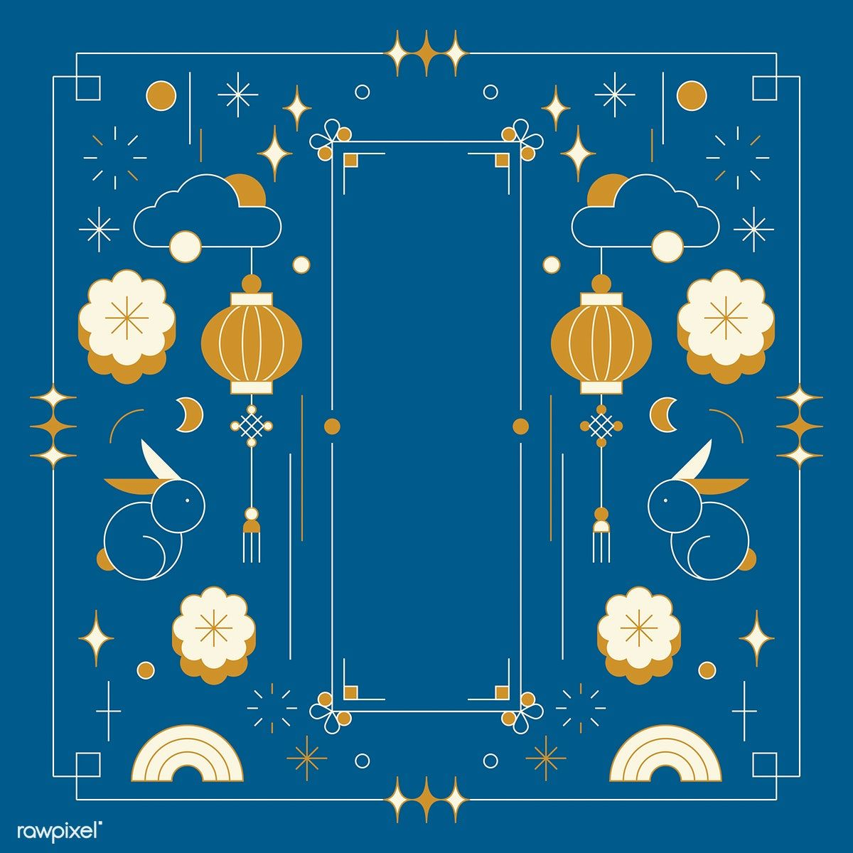 Download Premium Vector Of Chinese Mid Autumn Festival
