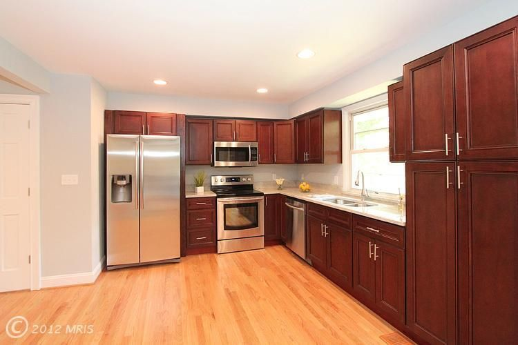 L Shaped Kitchen Similar To Ours With Large Window Above
