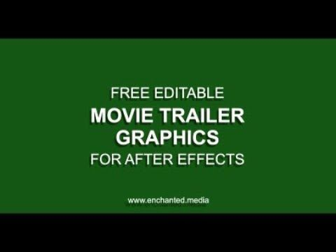 give your film trailer the hollywood treatment with our free